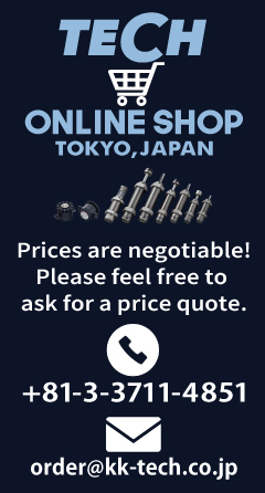 TECH ONLINESHOPバナー